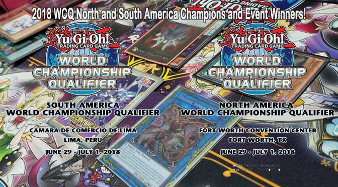 Congratulations to the 2018 WCQ North and South America Champions and Event Winners!