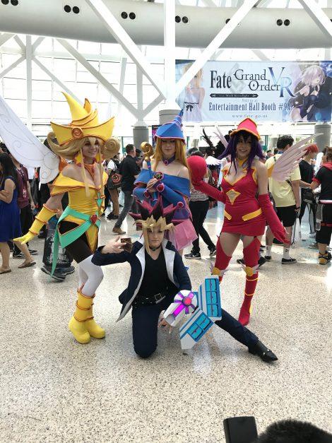 Yu-Gi-Oh! cosplay