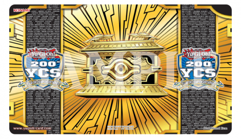 200th Yu-Gi-Oh! Championship Series Participation Game Mat.