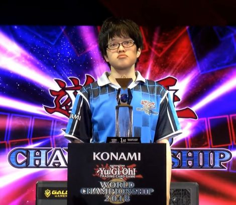 Takahiro Hamada from Japan - 2018 Yu-Gi-Oh! Duel Links World Champion