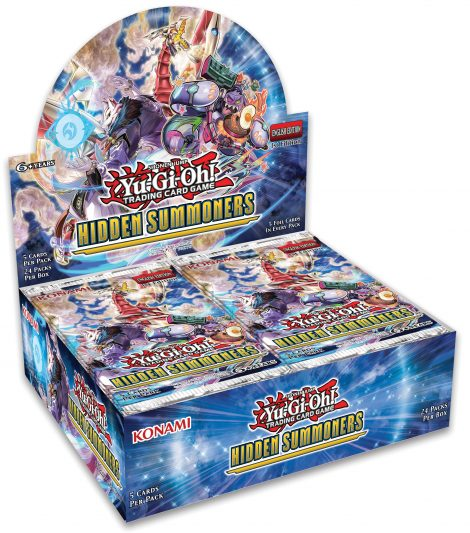 Hidden Summoners Booster HISU display EN