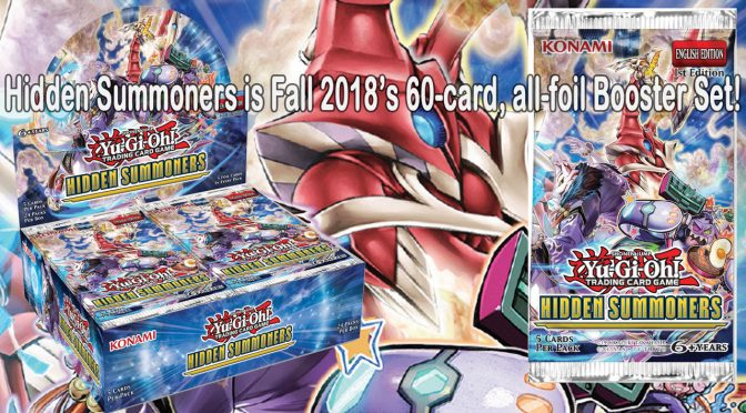 Hidden Summoners ALL FOIL Booster Pack available Friday, November 16, 2018
