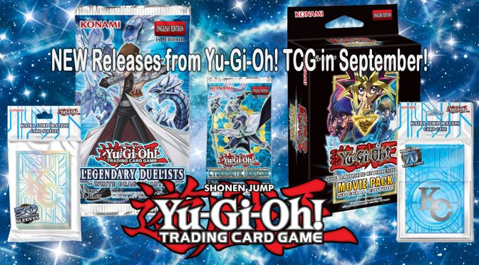 NEW Releases from Yu-Gi-Oh! TCG in September
