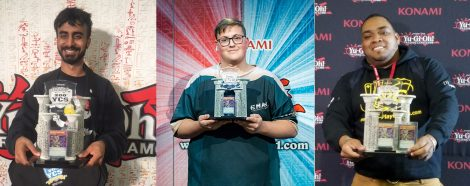 All 3 Winners of the 200th tournament of the Yu-Gi-Oh! Championship Series (YCS)