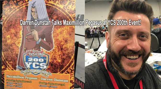 Darren Dunstan Talks Maximillion Pegasus and His Ongoing Work on the 'Yu-Gi-Oh!' Series