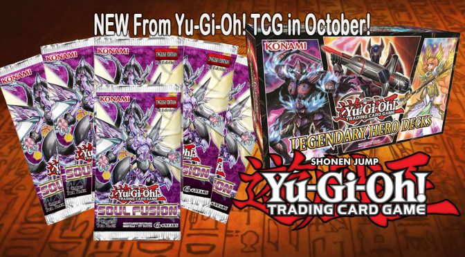 NEW From Yu-Gi-Oh! TCG in October!