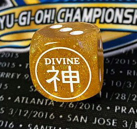 YCS 200 exclusive Divine Attribute Dice.