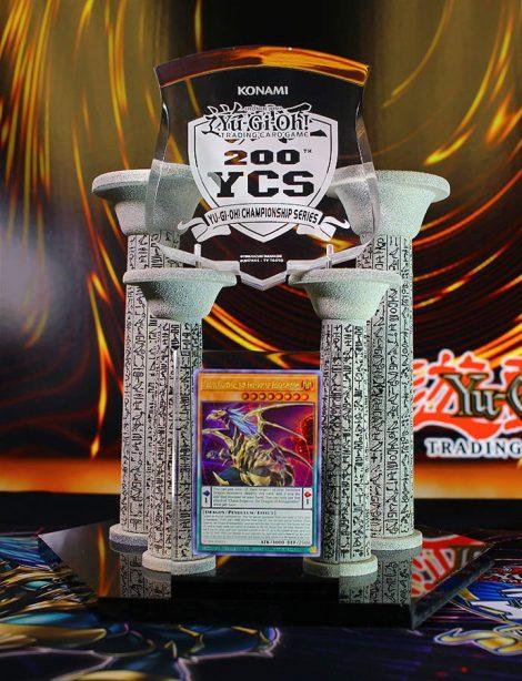 200th Yu-Gi-Oh Championship Series trophy