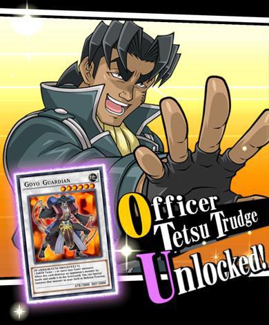 Unlock Officer Tetsu Trudge
