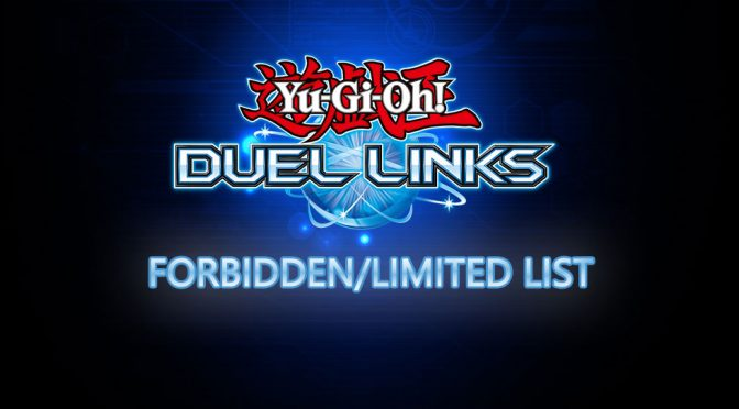 forbidden and limited list in Duel Links