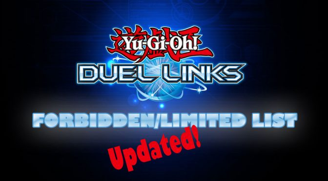Yu-Gi-Oh! Duel Links Ban List Updated!