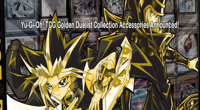 Yu-Gi-Oh! TCG Golden Duelist Collection Accessories Announced!