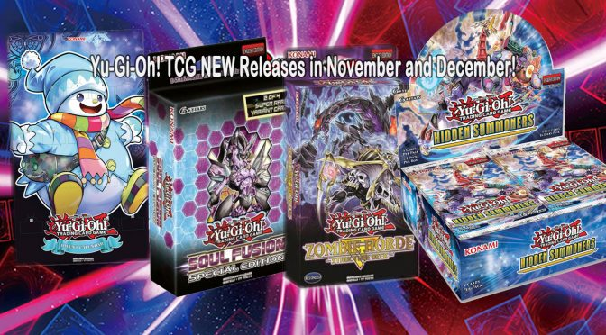 Yu-Gi-Oh! TRADING CARD GAME NEW Releases in November and December!