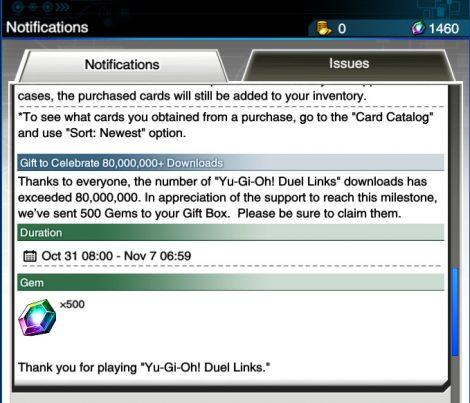 80 million download Commemorative Campaign
