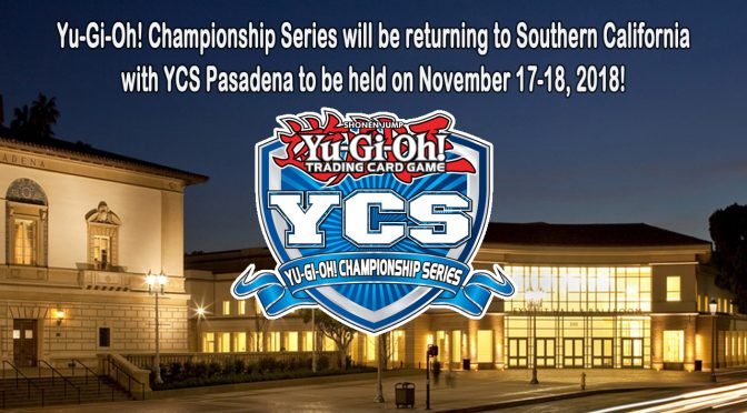Yu-Gi-Oh! Championship Series Returns to Pasadena, California