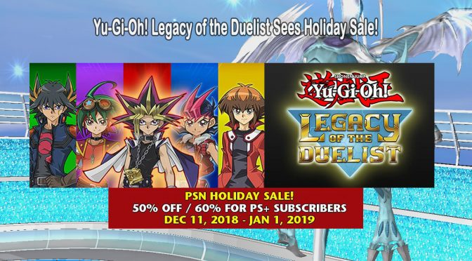 Yu-Gi-Oh! Legacy of the Duelist Sees Holiday Sale!