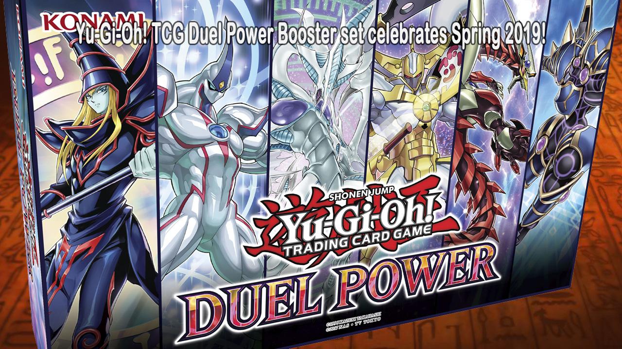 Yu-Gi-Oh Dual Power booster set