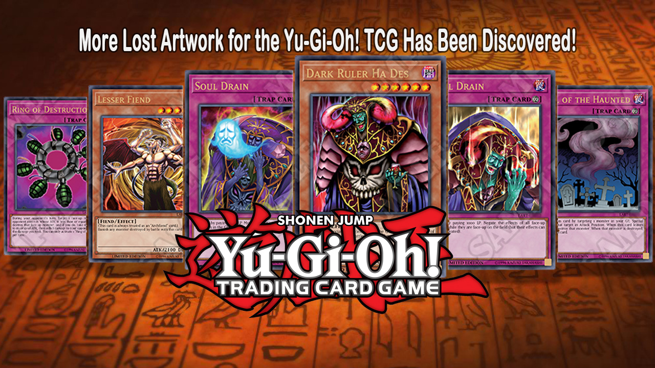 More Lost Artwork for the Yu-Gi-Oh! TRADING CARD GAME Has