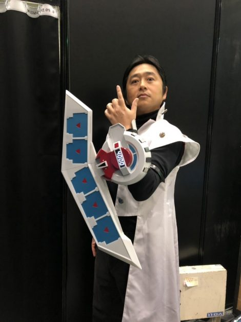 Emperor Umiuma with new PROPLICA Yu-Gi-Oh! DuelDisk
