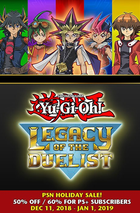 Yu-Gi-Oh! Legacy of the Duelist Holiday Sale