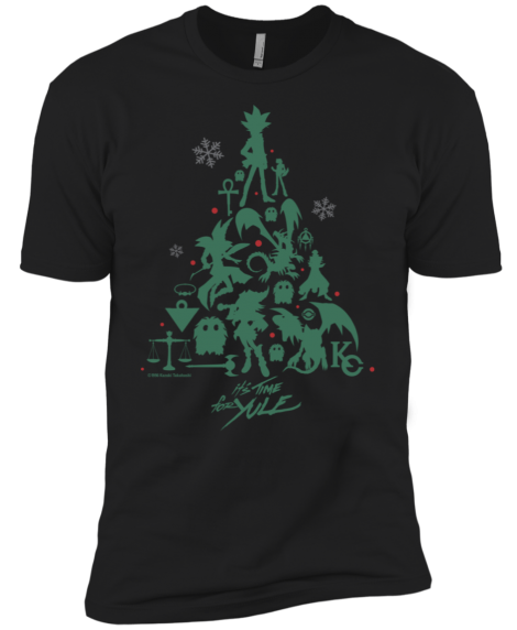 IT'S TIME TO YULE! exclusive Yu-Gi-Oh! shirt design