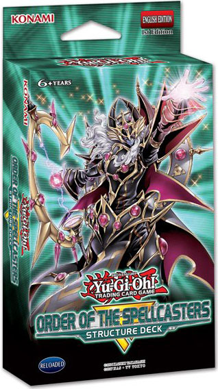 Structure Deck: Order of the Spellcasters