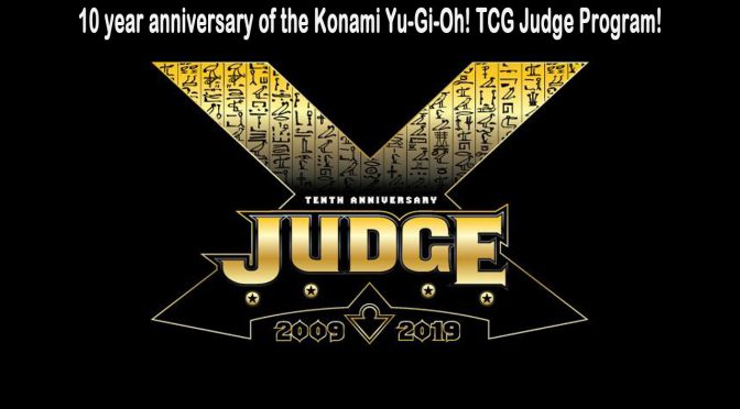 10 year anniversary of the Konami Yu-Gi-Oh! TCG Judge Program