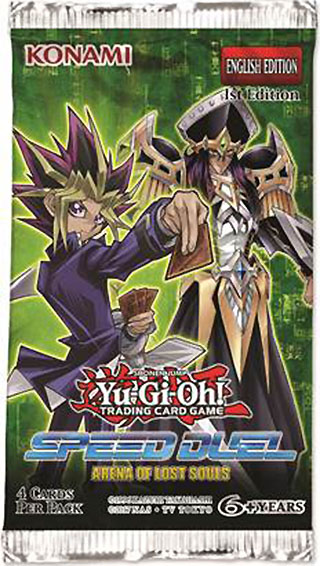 Speed Duel Arena of Lost Souls booster pack en