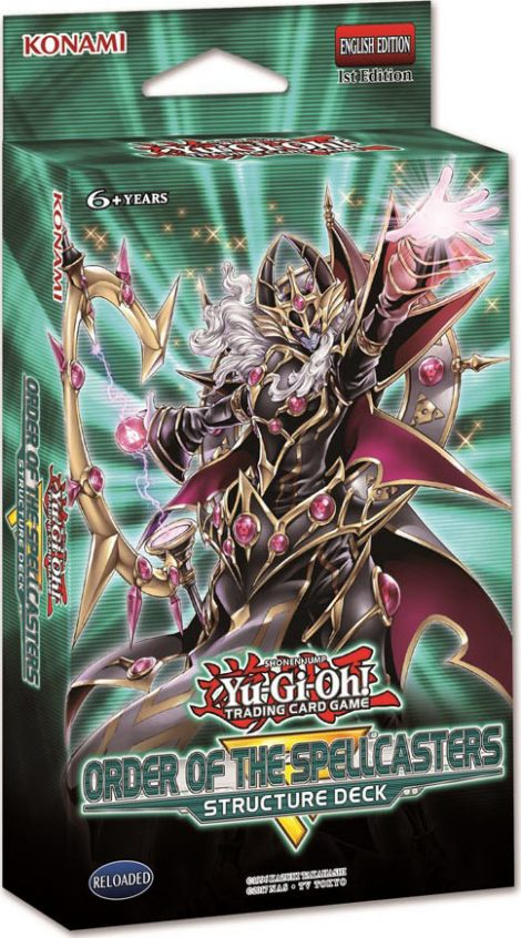 Structure Deck: Order of the Spellcasters - SR08