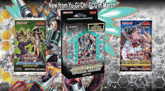 New from Yu-Gi-Oh! TCG in March!