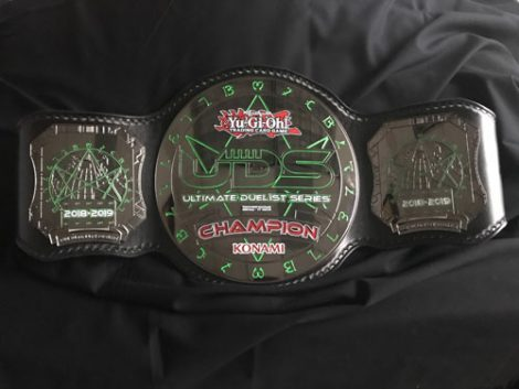 Ultimate Duelist Series Championship Belt