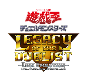 Yu-Gi-Oh! Legacy of the Duelist: Link Evolution Japanese Logo