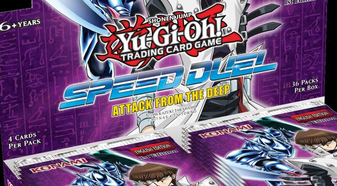 Upcoming Release from Yu-Gi-Oh! TCG - Speed Duel: Attack from the Deep