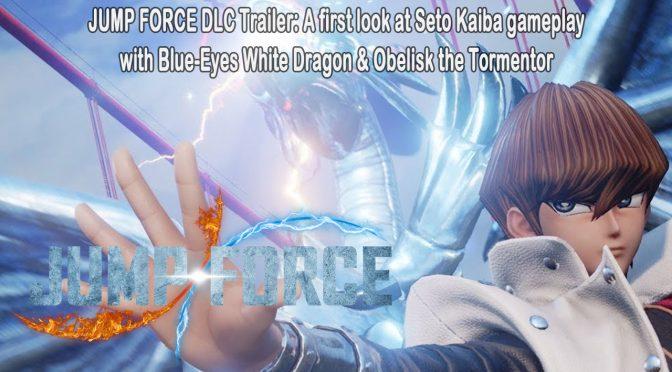 First gameplay of Yu-Gi-Oh! rival Seto Kaiba in JUMP FORCE – Seto Kaiba DLC Trailer