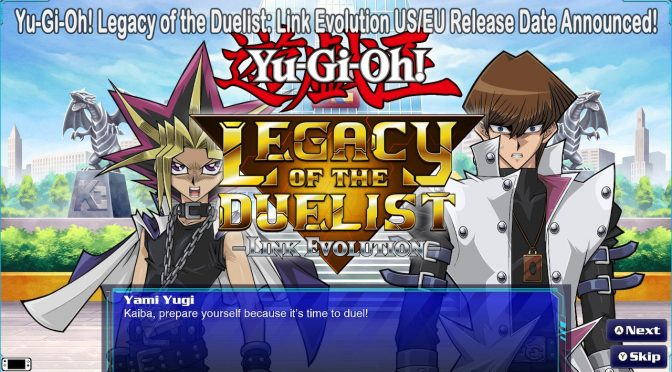 Yu-Gi-Oh! Legacy of the Duelist: Link Evolution Coming Exclusively to Nintendo Switch for the West in Summer 2019
