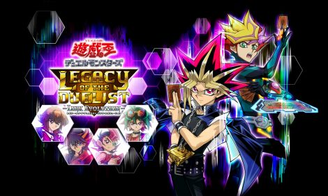 Yu-Gi-Oh! Duel Monsters Legacy of the Duelist: Link Evolution JP header