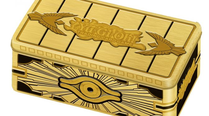 Upcoming Release from Yu-Gi-Oh! TCG – 2019 Gold Sarcophagus Tin