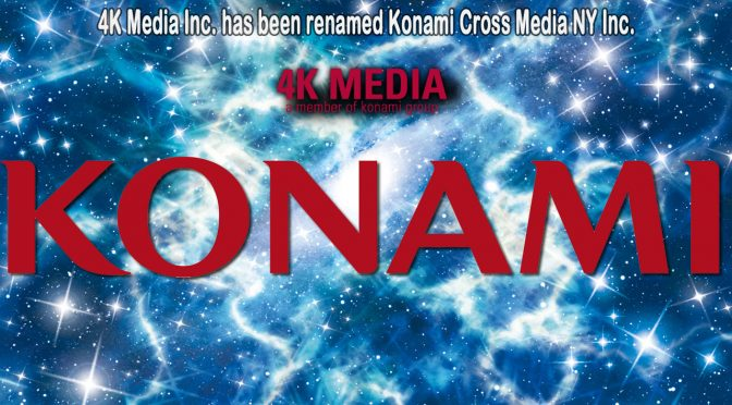 Konami Strategically Renames New York Office to Reflect New 360-Degree IP Rights Management Approach