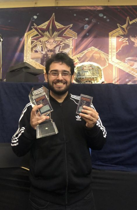 YCS Guatemala City Winner Paulo Goncalves from Brazil