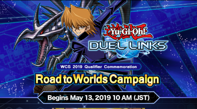 Road to Worlds Campaign for Yu-Gi-Oh! Duel Links