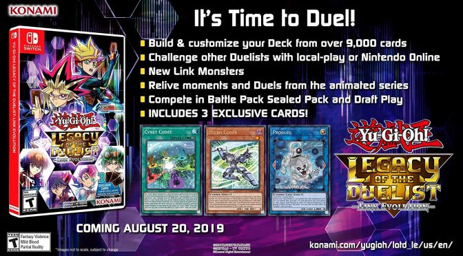 Yu-Gi-Oh! Legacy of the Duelist: Link Evolution Pre-order available now
