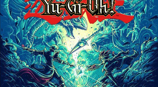 A Limited Edition Numbered Screenprint by Dan Mumford Will be Available at the Yu-Gi-Oh! Tribute Art Show at Gallery1988