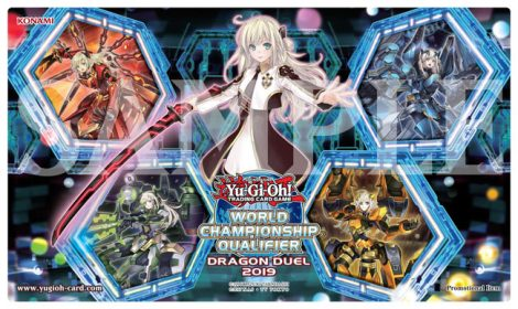 2019 WCQ Dragon Duel Top Cut Game Mat