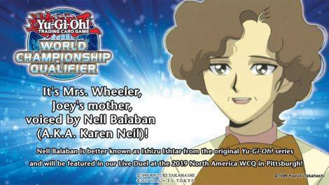 Ishizu Ishtar - Nell Balaban, A.K.A. Karen Neil)