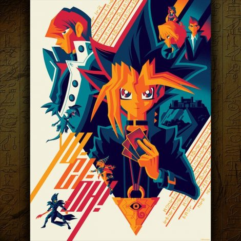 screenprint by Tom Whalen