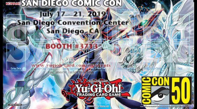 Yu-Gi-Oh! Extravaganza at San Diego Comic Con 2019