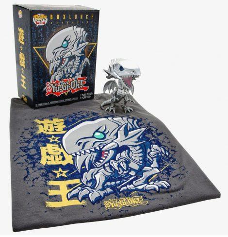 Funko Pop! Yu-Gi-Oh! Blue-Eyes White Dragon - BoxLunch Box Set