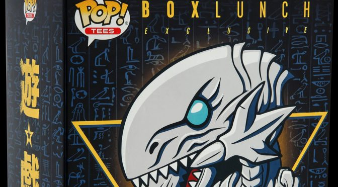 Yu-Gi-Oh: Funko Pop Releases Blue-Eyes White Dragon BoxLunch Exclusive Bundle
