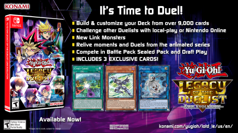 Yu-Gi-Oh! Legacy of the Duelist: Link Evolution - It's time to duel!!
