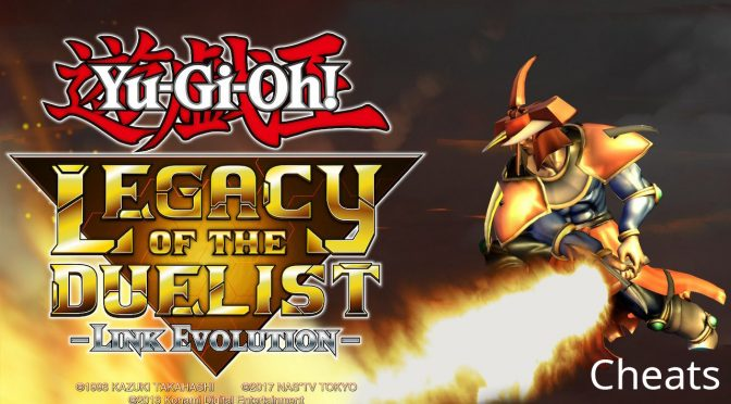 Yu-Gi-Oh! Legacy of the Duelist: Link Evolution - Cheats